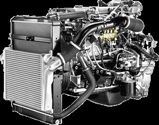 Дизельный двигатель ISUZU 4HK1